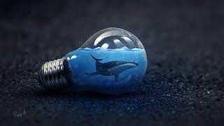 How I Make Light Bulb Underwater Effect In Photoshop cc