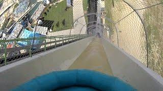 Giant Verrückt Water Slide at Schlitterbahn Kansas City