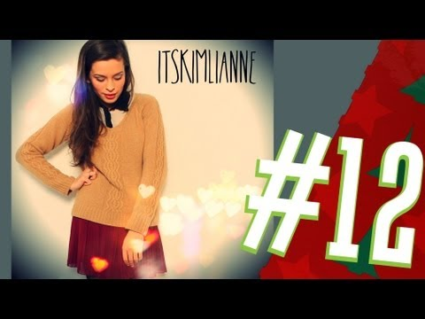 Weihnachts-Outfit: Plissee Rock & Kniestrümpfe (Weihnachten - OOTD) / Tür 12: 1500€ Gutschein