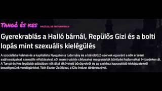 Gyerekrablás a Halló bárnál, bolti lopás mint szexuális kielégülés. Tóth Eszter Zsófia a 24.hu-n.