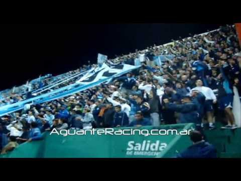 """Racing Club - Cuidate Rojo 2"" Barra: La Guardia Imperial • Club: Racing Club • País: Argentina"