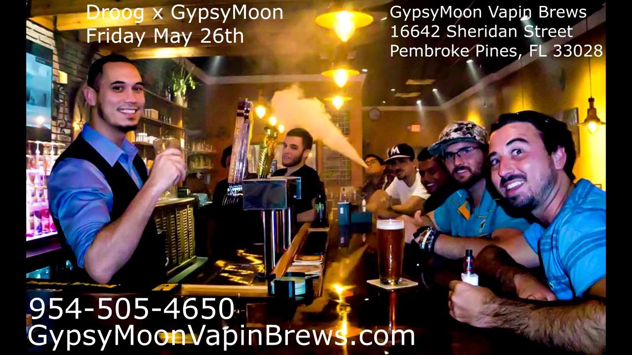 Droogfest and Gypsy moon Vapin brews event