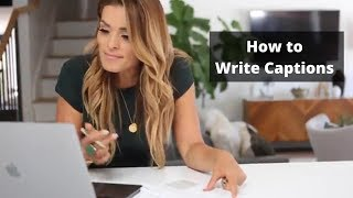 How to Write Captions for Authentic Engagement
