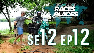 Races to Places SE12 EP12 - Borders! - Adventure Motorcycling Documentary Ft. Lyndon Poskitt