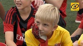 Звёзды футбольного клуба «Милан» провели тренировки для детей