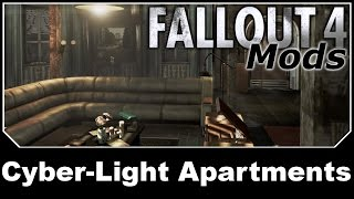 Fallout 4 Mods - Cyber-Light Apartments