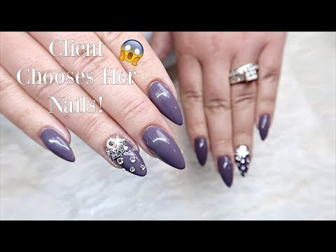Watch Me Work on Another Nail Tech's Nails! | Sandwich Technique