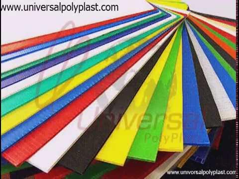 H Line Polypropylene Corrugated Sheets