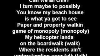 Chamillionaire - the ultimate vacation with lyrics