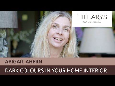 Abigail Ahern explains how to put dark colours to work in your home interior YouTube video thumbnail