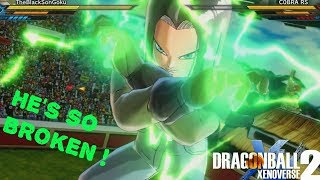 Worst DLC Character in The Game ! Android 17 ( DB SUPER ) Xenoverse 2,