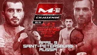 M-1 Challenge 65 official promo |  M-1 Grand Prix Semi-Final, April 9