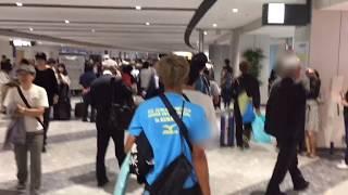 震災二日目#新千歳空港の様子一部の出発/到着便が再開するも、空港内は大混雑の巻2018年9月6日earthquake北海道地震胆振HokkaidoJapan北海道地震