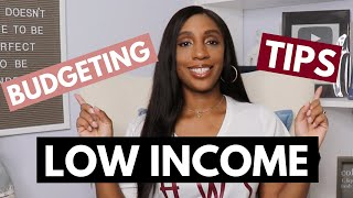 Budgeting Tips For Low Income