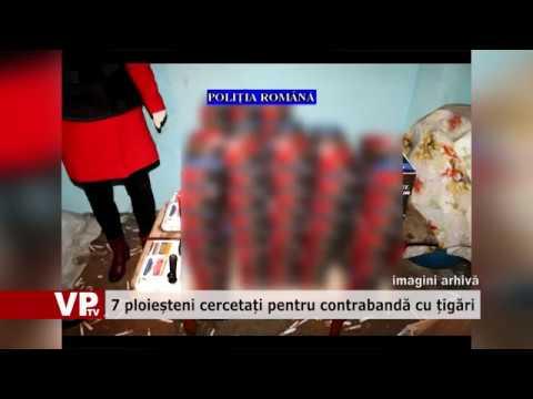 7 ploieșteni cercetați pentru contrabandă cu țigări