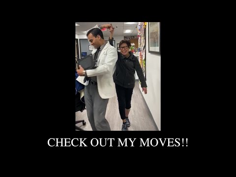 Check out my moves!!