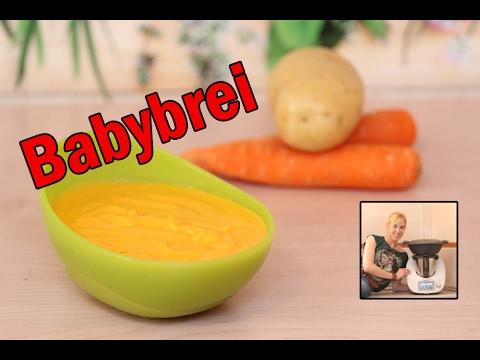 Babybrei, Gemüse-Fleisch-Brei im Thermomix