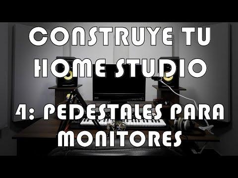 Construye tu Home Studio - #4: Pedestales para monitores