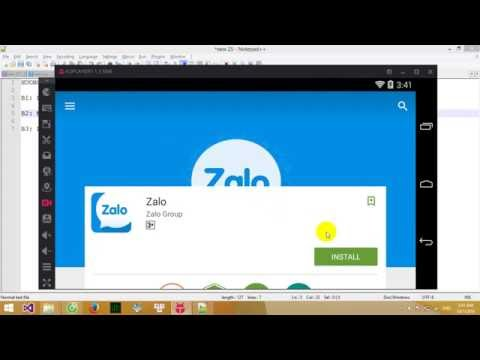Hướng dẫn cài Zalo trên máy tính phiên bản mới nhất ( 2016 - 2017 )