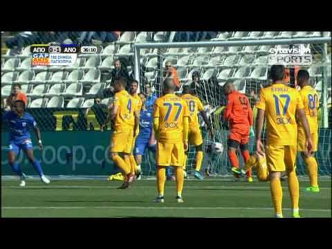 ΒΙΝΤΕΟ: ΑΠΟΕΛ 1-1 ΑΝΟΡΘΩΣΗ | Στιγμιότυπα και γκολ αγώνα