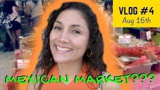 Inside a Mexican Market in Tijuana Mercado Hidalgo Vlog #4 | Kali Sanchez Vlogs
