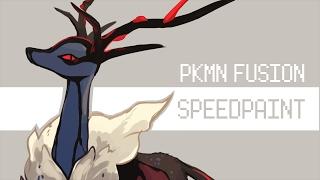 [Speedpaint ♠]: XY Pokemon Fusion