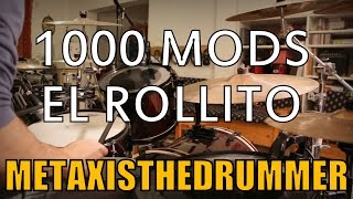 1000mods - El Rollito | Drum Cover