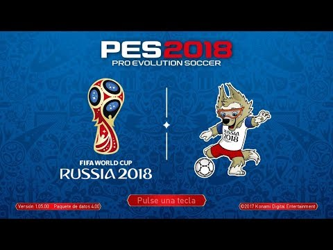 PES 2018 Update 08/07/2018  Russia World Cup | PPSSPP