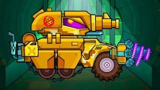Машина ест машину Car Eats Car 3 - Хищные машины #53 Танкоминатор и танк - игра про машинки #МК