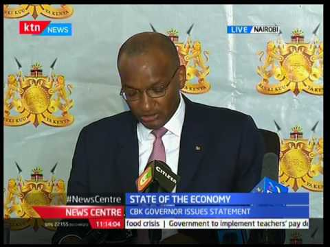 Patrick Njoroge-CBK Governor gives update on the state of Kenya's economy