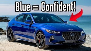 Here's What Your Car Color Says About Your Personality on Everyman Driver