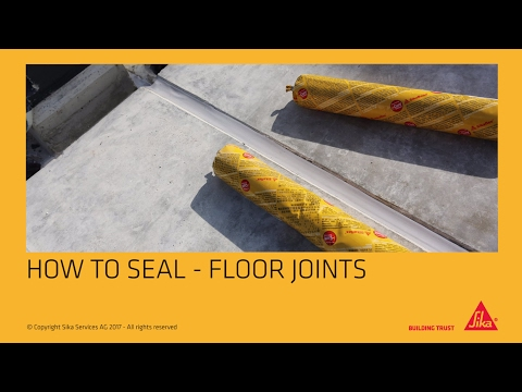 How to: Seal Floor Joints