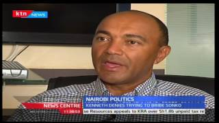 Peter Kenneth refutes claims that he tried to bribe Sonko out of gubernatorial race
