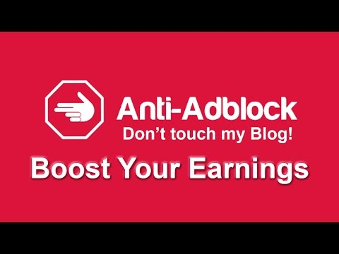 How To Anti Adblock Blogger - Stop Losing Ad Revenues Mp3