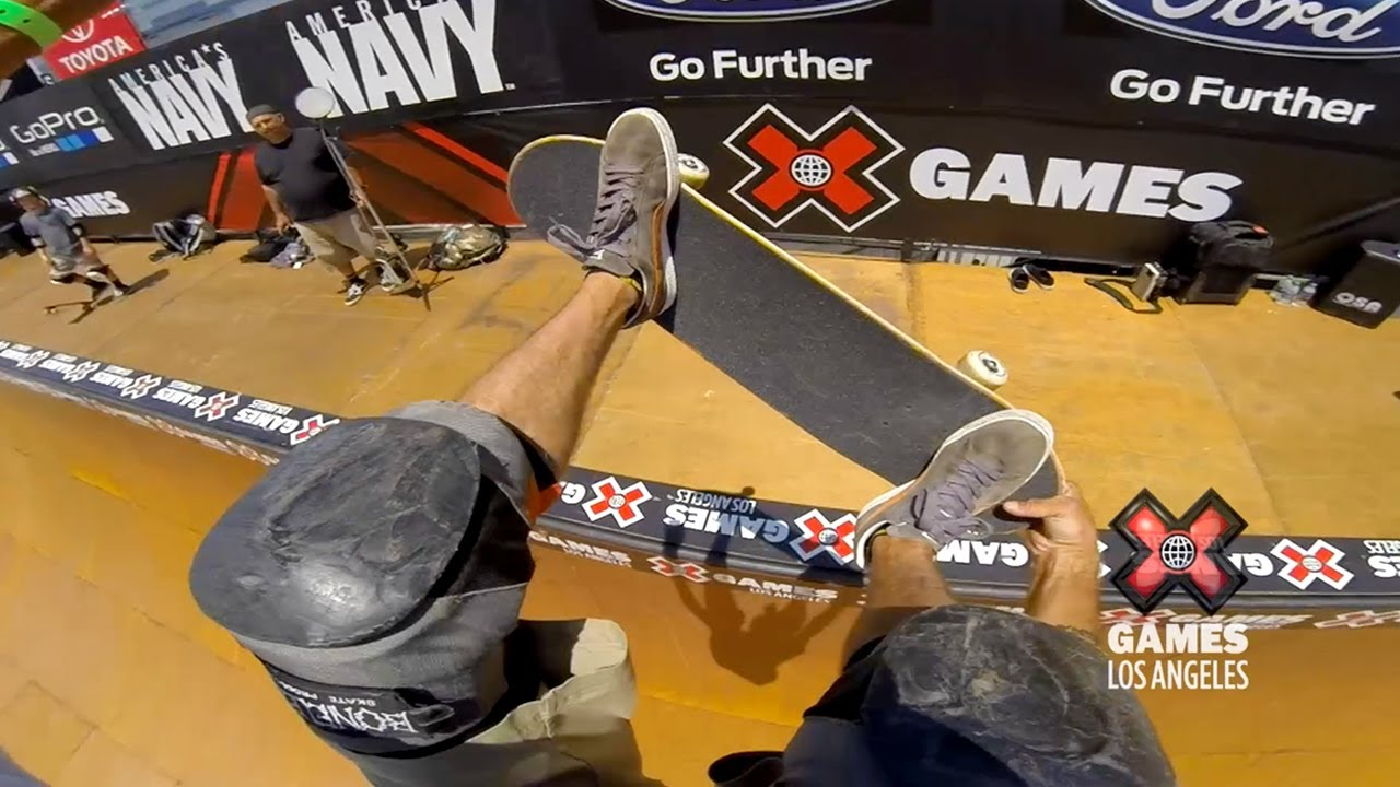 Riding Along With Bucky Lasek Via A GoPro Might Make You Throw Up