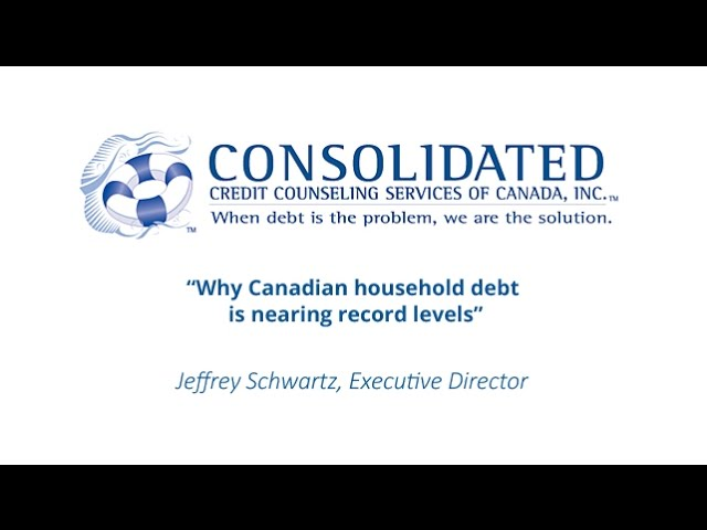 Why Canadian household debt is nearing record levels