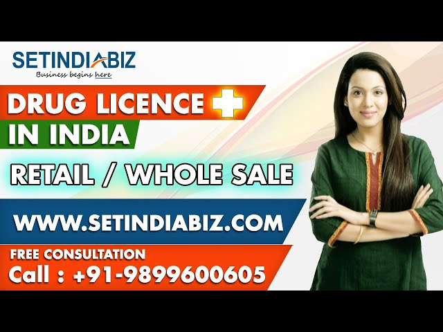 Drug License Registration | Pharmacy Business in India