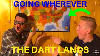 Throwing a Dart at a Map and Going Wherever it Lands (Idea by Yes Theory)