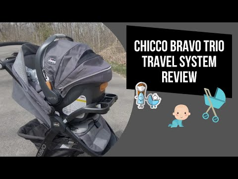 Chicco Bravo Trio Travel System | Best Stroller System Under $400!