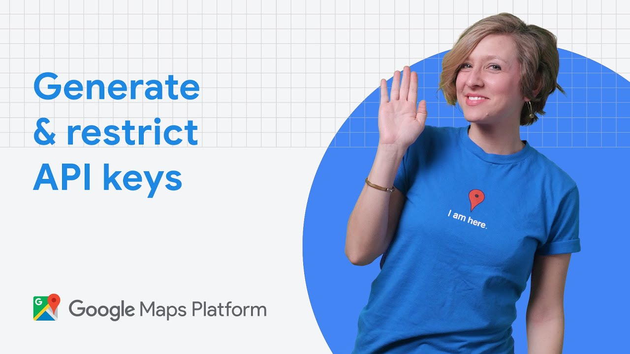 Find out how to generate and restrict API keys for use with Google Maps Platform.
