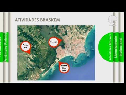 Afundamento do solo em bairros de Maceió - 19/11/2019 - 16:37