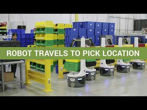 Locus Robotics für Lagerautomatisierung