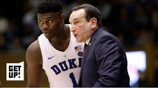 Should Zion threaten the Pelicans with going back to Duke? | Get Up!