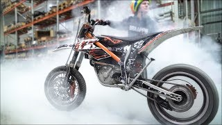 ELECTRIC Supermoto - KTM E-SX