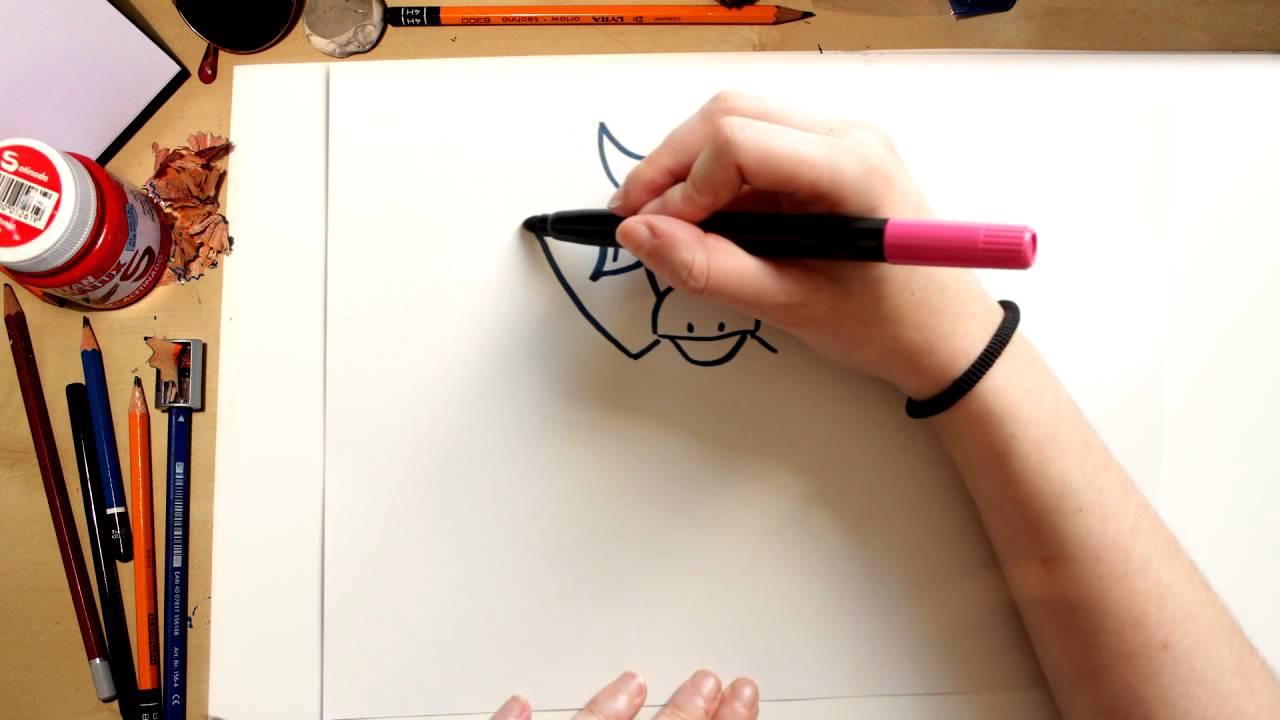 Como desenhar a Vaquinha - desenhos da Turma da Vaquinha