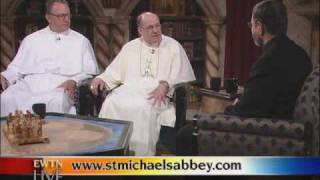 EWTN Live   The Norbertine Fathers   Fr  Mitch Pacwa, S J  with Abbot Hayes 07 21 2010