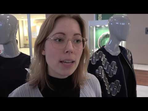 Pauline Van Dongen at the IDTechEx Show! 2016 in Berlin