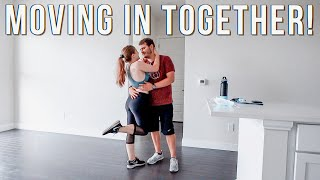MOVING INTO OUR FIRST APARTMENT TOGETHER | Its Finally Move In Day!