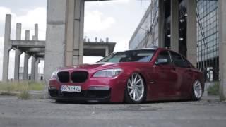 "Stance BMW 7er Real Red / 2Pac ft. Eminem & Eazy E - ""PANDA"" (Remix)"