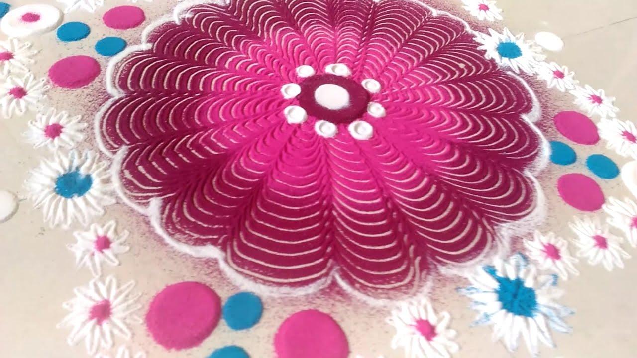 sankranti rangoli design by shilpa